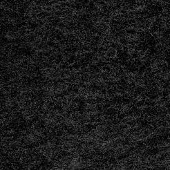 Мех искусственный трикотажный гладкий - чёрный
