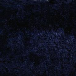 Мех искусственный трикотажный (на опушку) синий